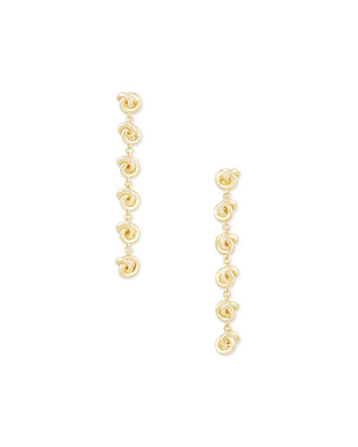 Presleigh Knotted Linear Earrings