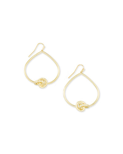 Presleigh Knotted Open Frame Earrings