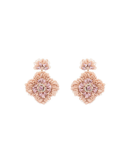 Mignonne Gavigan Mila Flower Drop Earrings
