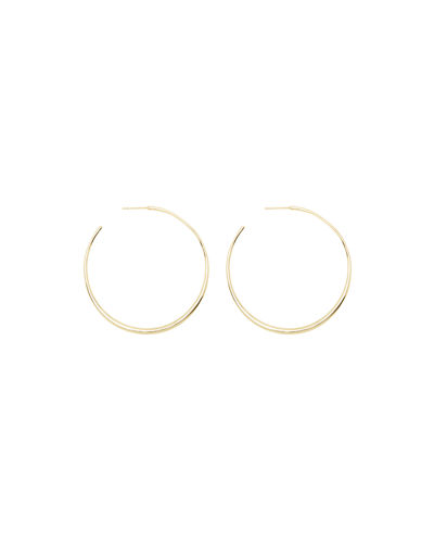 Stainless Steel Polished w// 14k Gold Accent Round Huggie Hoop Earrings 5mm x 10mm