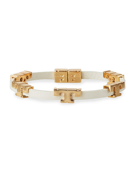 Tory Burch Serif T Single Wrap Bracelet