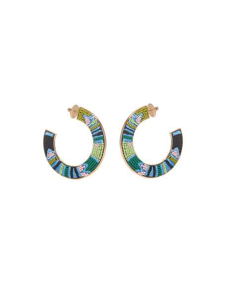 Mignonne Gavigan Aztec Fiona Hoop Earrings