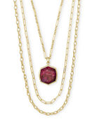 Kendra Scott Davis Three-Layer Necklace