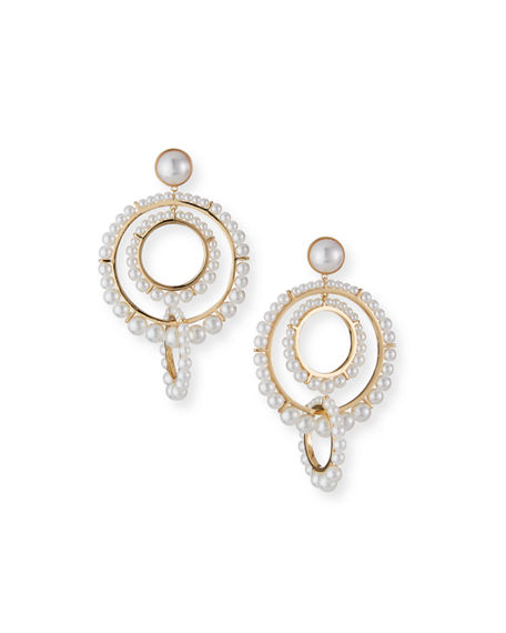 Image 1 of 2: Mignonne Gavigan Carter Hoop Earrings