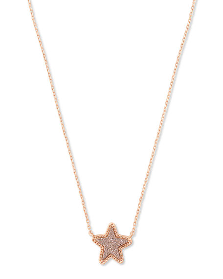 Kendra Scott Jae Star Short Pendant Necklace