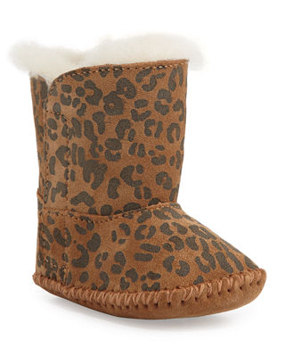 UGG Australia Cassie Leopard-Print Boot, Infant Sizes 0-12
