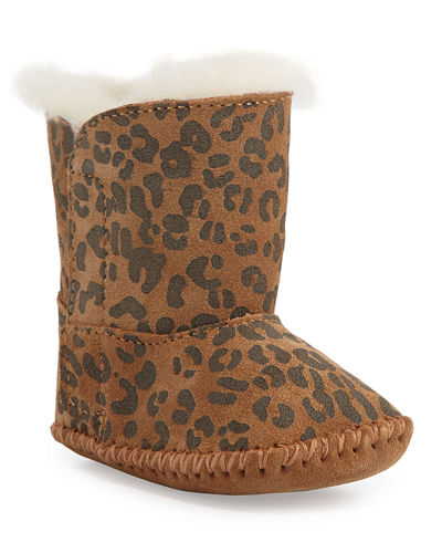 UGG Cassie Leopard-Print Boot, Infant Sizes 0-12 Months