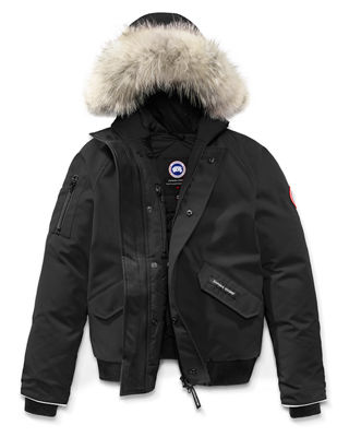Canada Goose Rundle Bomber w/Detachable Fur Trim, Youth