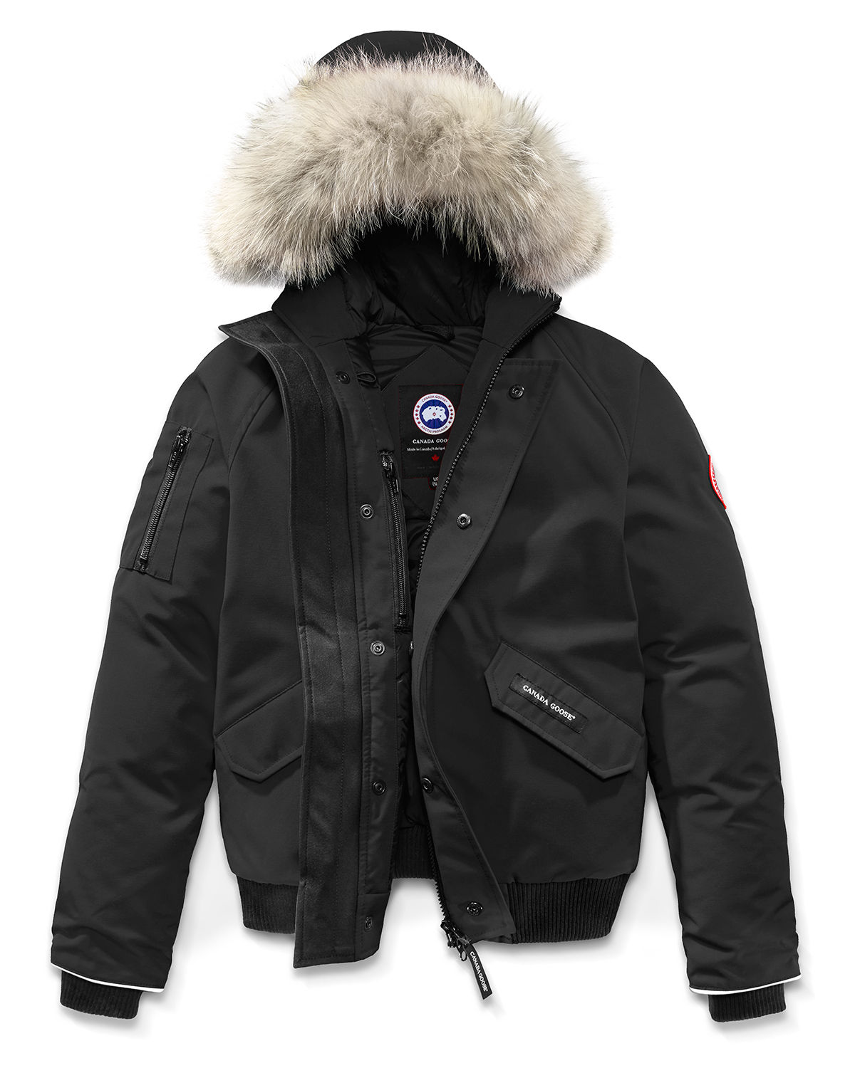 d639675d5 Canada Goose Rundle Bomber w Detachable Fur Trim