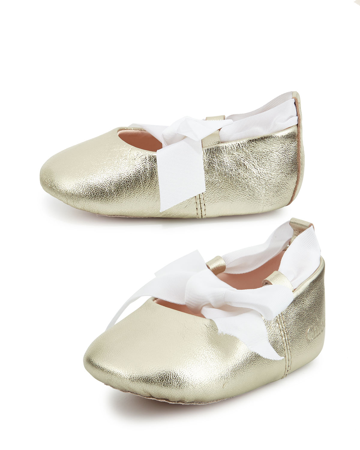 Baby Leather Ballet Shoe