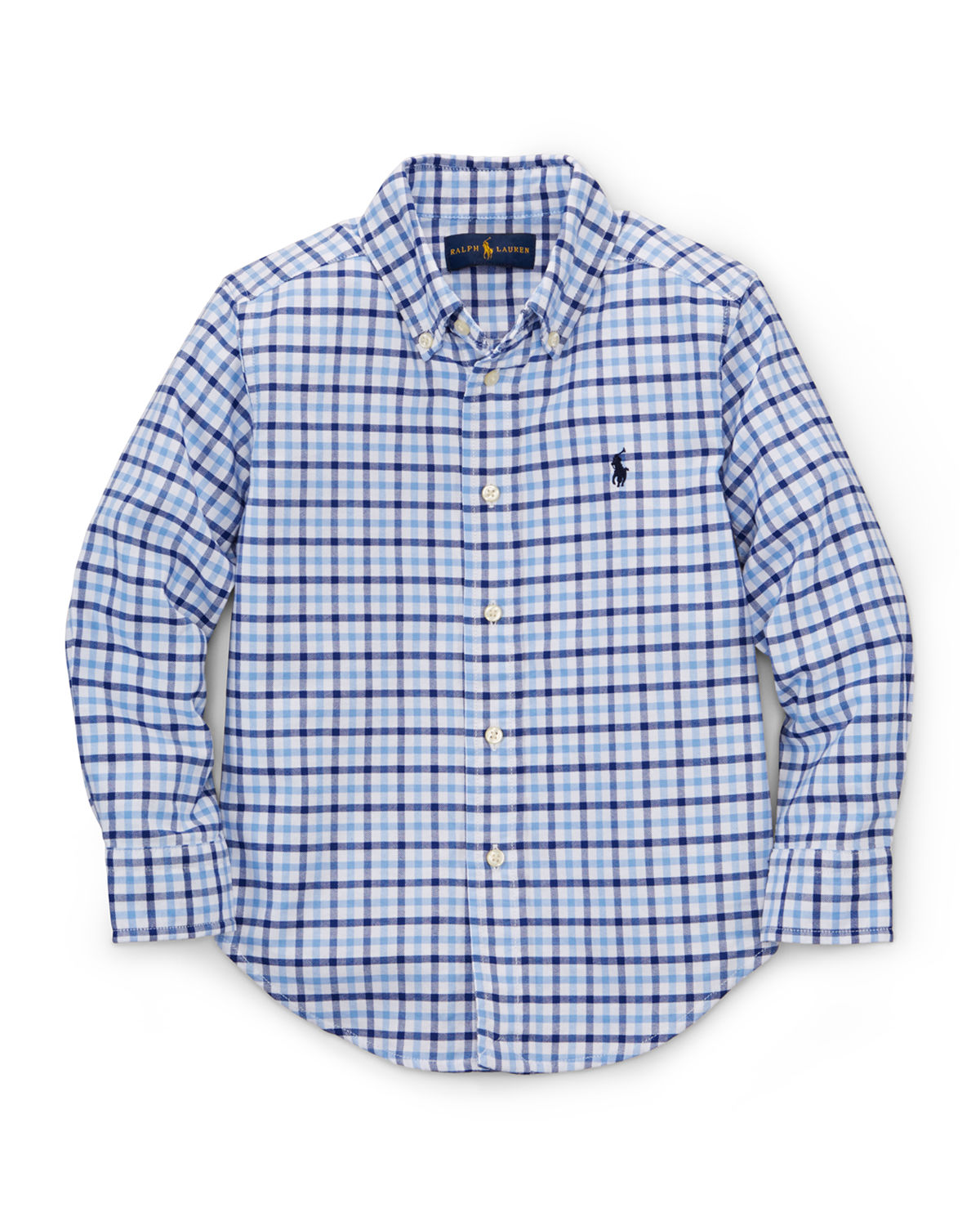 Blake Gingham Oxford Shirt, Size 2T-7