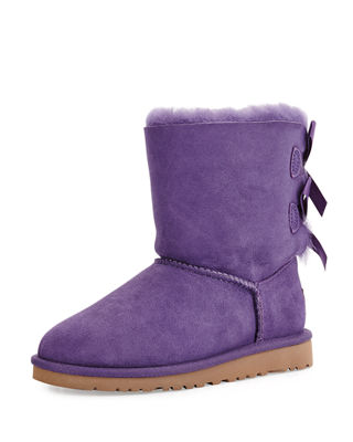 Bailey Boot with Bow, Kid Sizes 13-4Y
