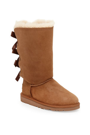 UGG Bailey Tall Boots with Bow, Kid Sizes 13T-4Y