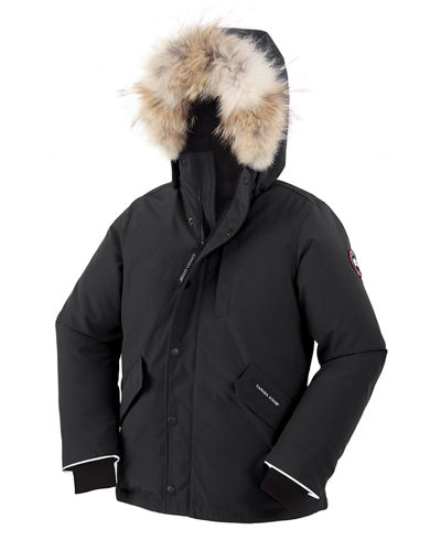 Boys' Logan Parka with Fur Trim, Size XS-XL