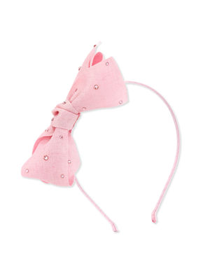 Bari Lynn Canvas Bow Headband