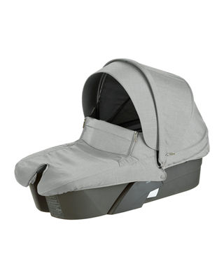 Stokke Xplory?? Carry Cot, Gray Melange and Matching