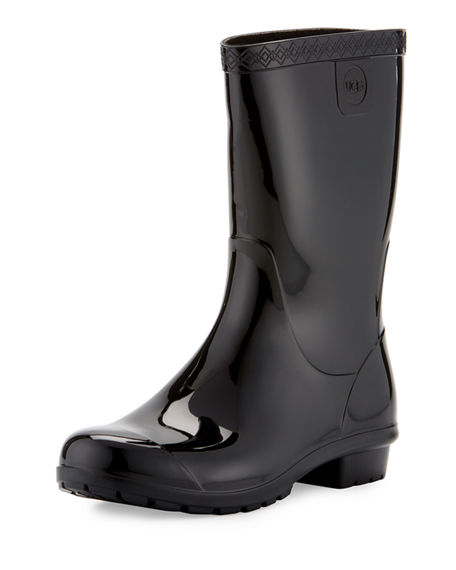 UGG Australia Embossed Logo Rain Boots Sale Very Cheap rFLzW5A3