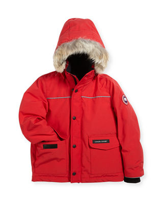 Canada Goose Kids' Hooded Lynx Parka, Size 2-7
