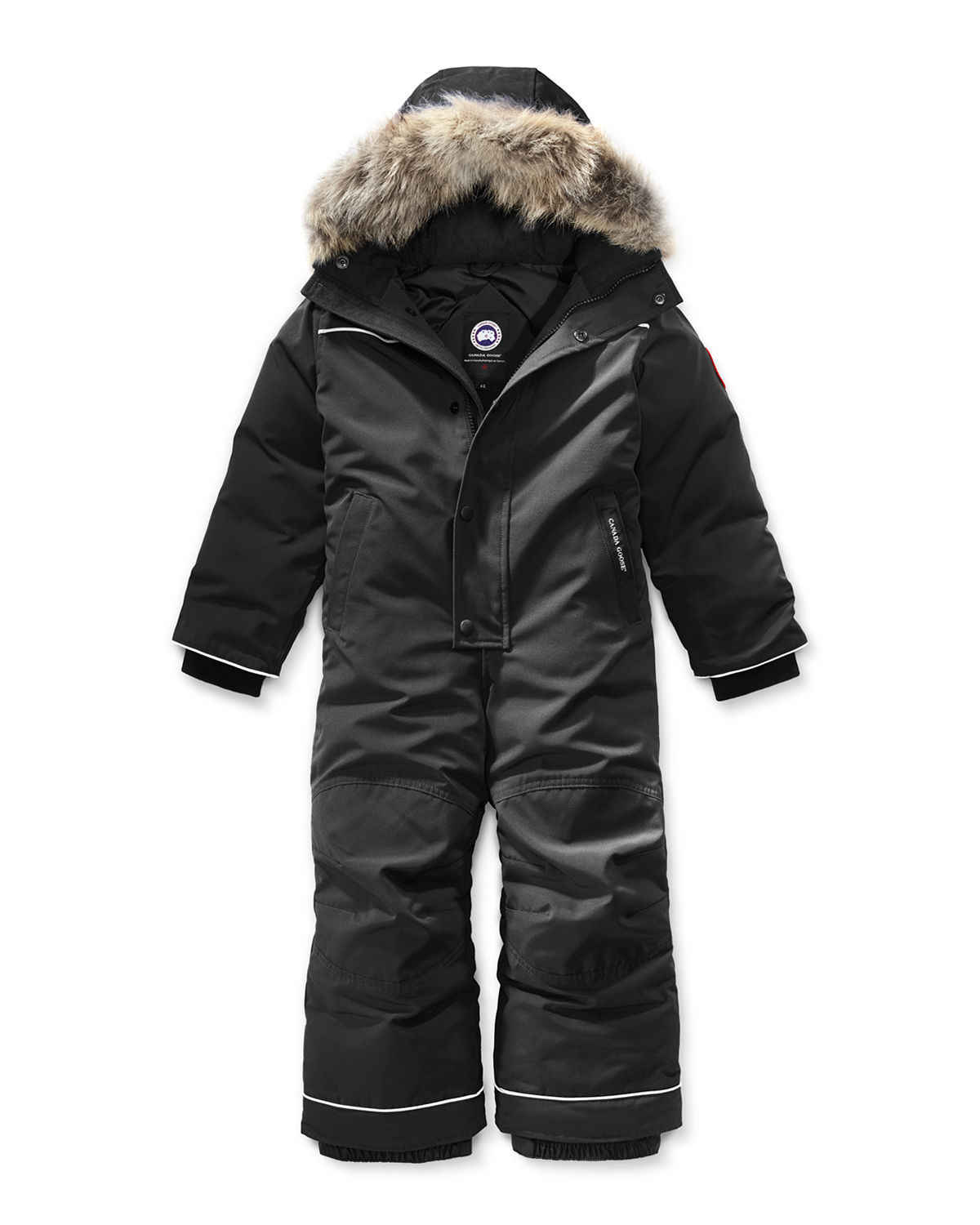 Grizzly Hooded Snowsuit, Size 2-7