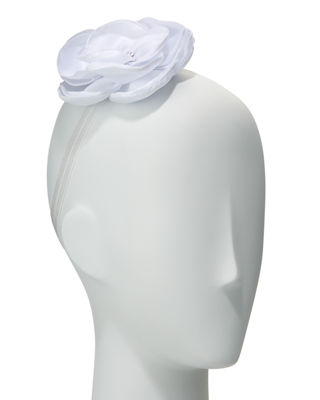 Girls' Silk Flower Stretch Headband