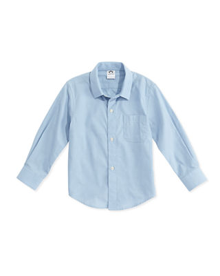 Image 1 of 5: The Standard Poplin Shirt, Size 2T-14