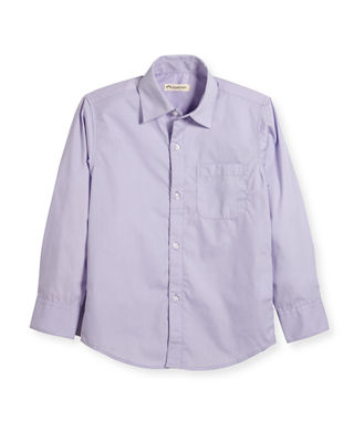 Appaman The Standard Poplin Shirt, Size 2T-14