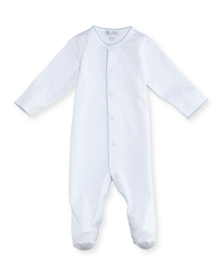 Polka-Dot Footie Playsuit, Size 0-9 Months
