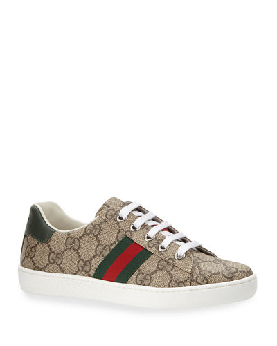 c842ca33ebce7 Gucci Leather Lace Up Shoes | Neiman Marcus