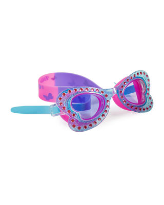 Glittered Butterfly Goggles