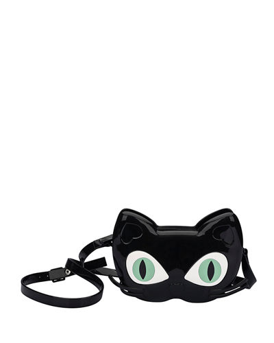 Girls' Mini Cat Jelly Crossbody Bag