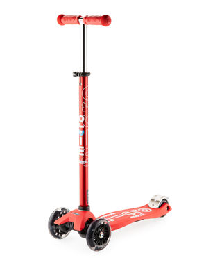 Micro Kickboard Kids' Maxi Deluxe Scooter w/ Light-Up