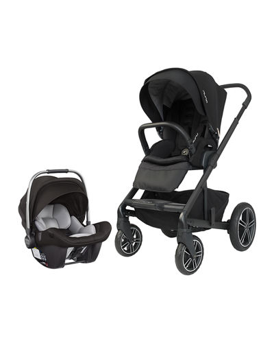 MIXX2 Strolled & Pipa Lite LX Car Seat Travel System