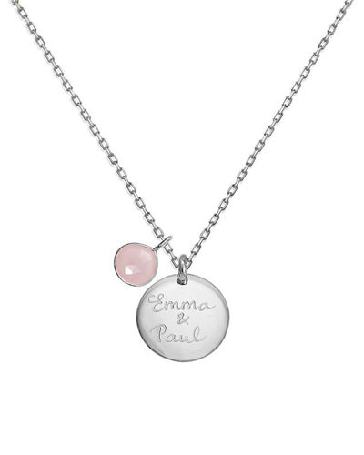 Personalized Gemstone Necklace