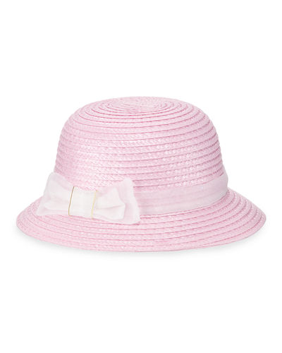 Mayoral Kids' Woven Bucket Hat