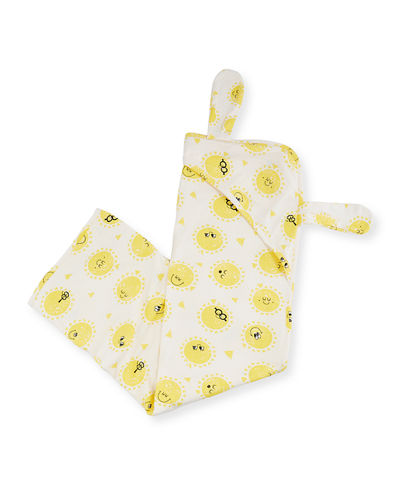 Kids' Hooded Blanket w/ Bunny Ears