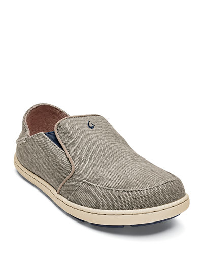 Boys' Nohea Lole Slip-On Canvas Sneakers  Baby