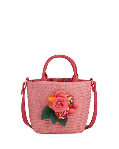 Mayoral Girls' Flower Crossbody Bag