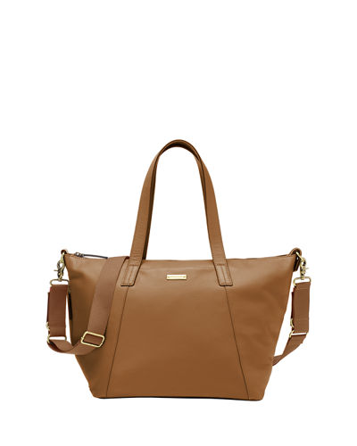 Noa Leather Diaper Tote Bag