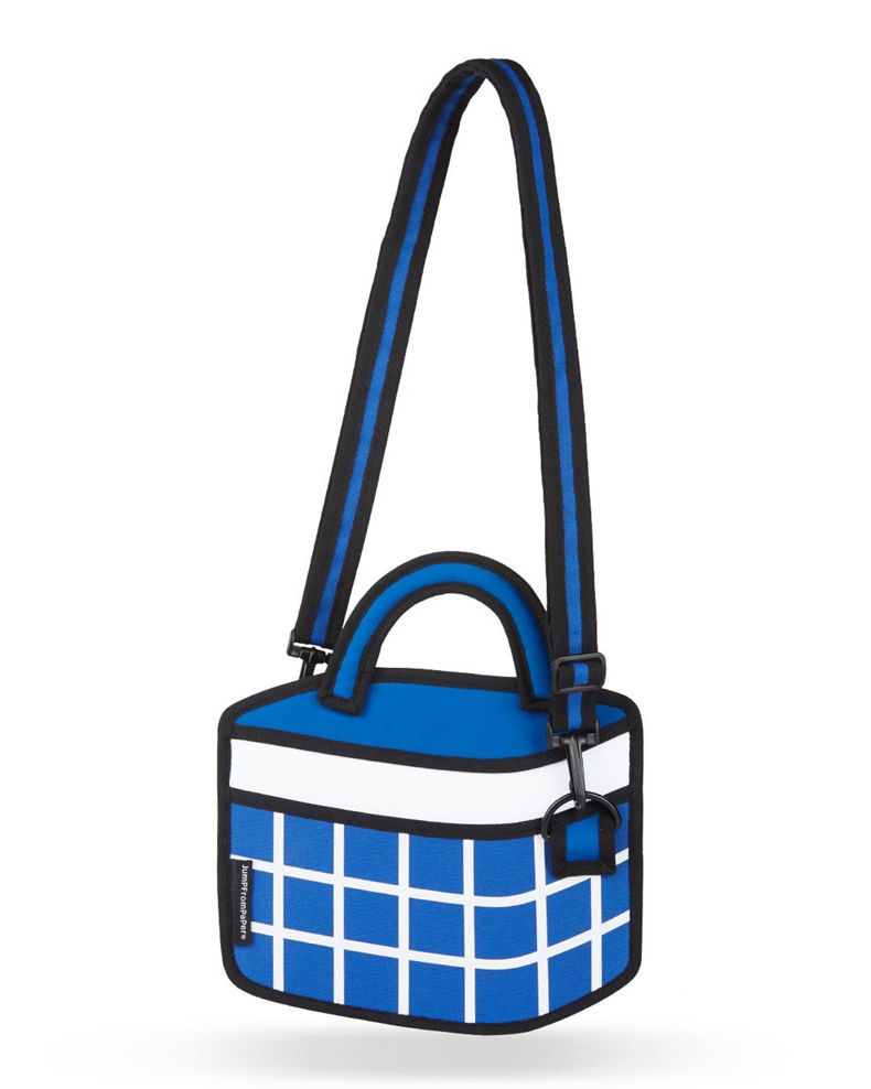 Jump from Paper Kid's Checkered Shoulder Bag
