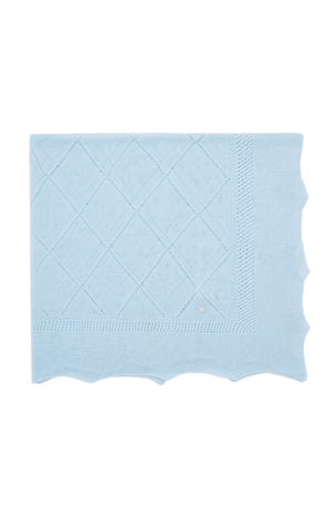 Pili Carrera Lightweight Knit Baby Blanket
