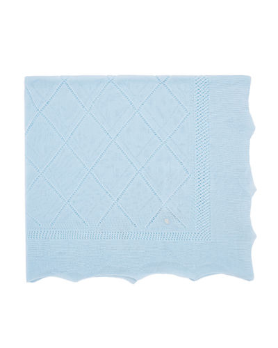 Lightweight Knit Baby Blanket