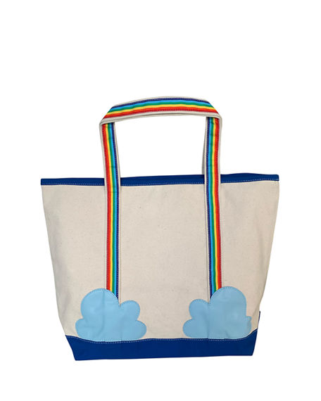 Cece DuPraz Kid's Rainbow Patch Tote Bag, Personalized