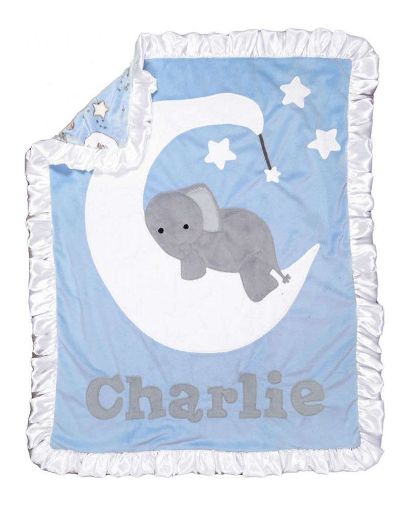 Boogie Baby Personalized Goodnight Moon Blanket